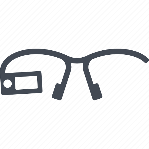 glasses, high-tech glasses, spectacles, technological glasses icon