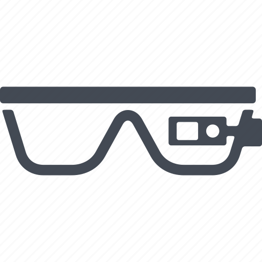 eyeglasses, glasses, high-tech glasses, spectacles, sunglasses icon