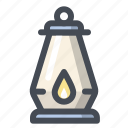 camping, flashlight, lamp, light, tourism, travel, vacation icon
