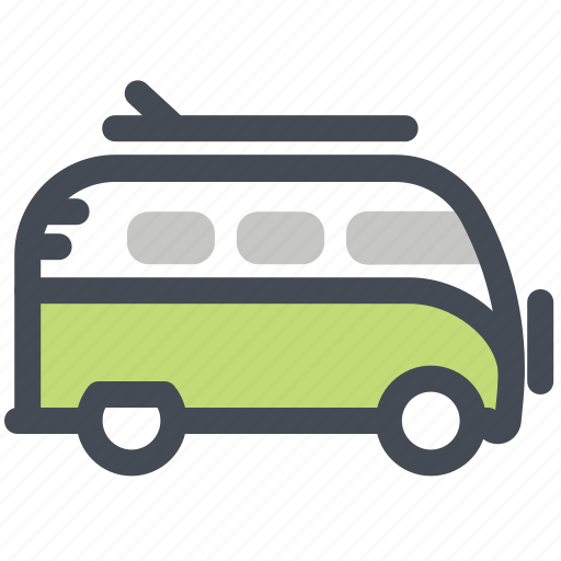 Hiking, auto, buss, camping, car, road, wolksvagen icon - Download on Iconfinder