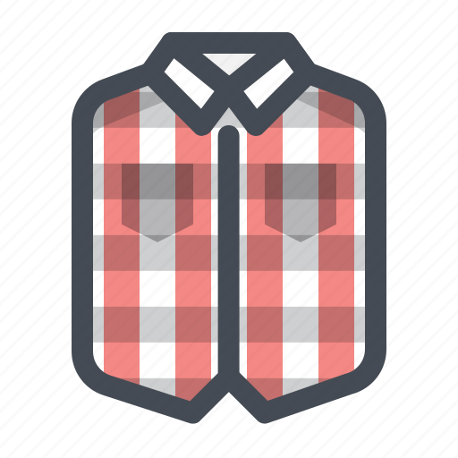 clothes, clothing, hiking, man, outdoor, person, shirt icon