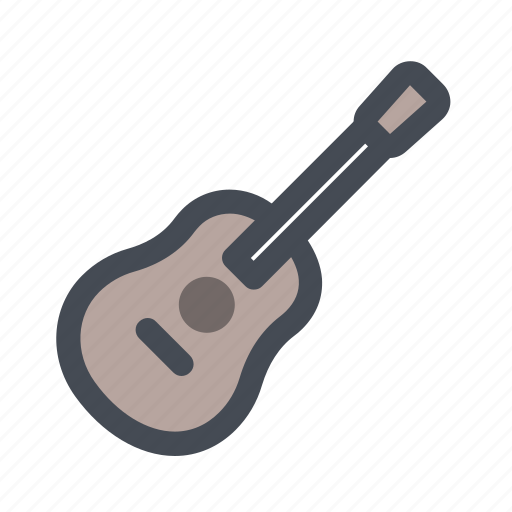 Hiking, country music, guitar, music, recreation, songs, summer icon - Download on Iconfinder