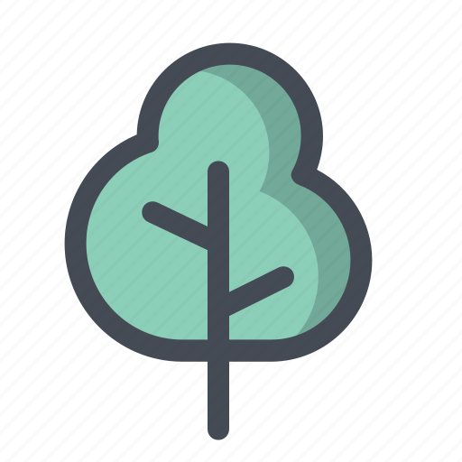 camping, forest, hiking, nature, picnic, tree, trek icon