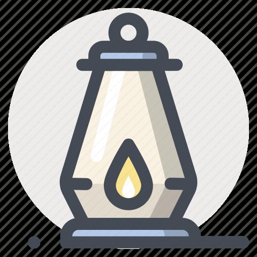 camping, flashlight, hiking, lamp, light, outdoor, travel icon
