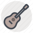 camping, country music, guitar, hiking, music, recreation, songs icon