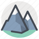 climb, hiking, hill, mountain climber, mountains, nature, trekking icon
