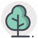 camping, forest, hiking, nature, picnic, trees, trek icon