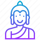 avatar, buddha, god, hindu, india, tale icon