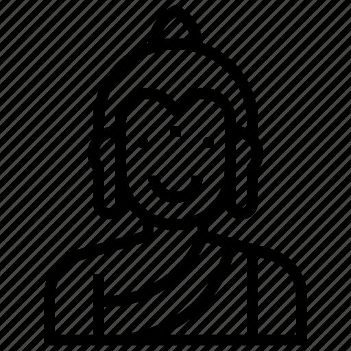 avatar, buddha, god, hindu, india, tale icon