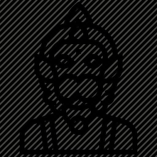 avatar, god, hanuman, hindu, india, tale icon
