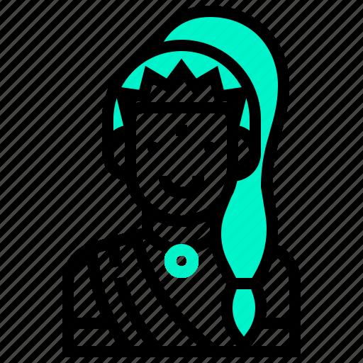avatar, earth, god, hindu, india, mother, tale icon