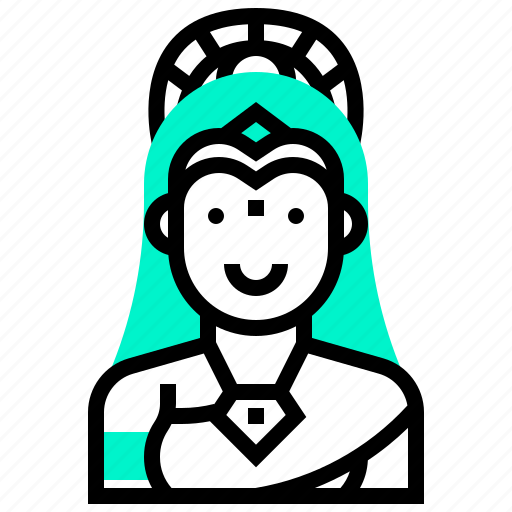 avatar, god, hindu, india, saraswati, tale icon