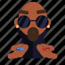 choice, choose, emoji, emoticon, hiphop, man, sticker icon