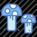 fungi, mushroom, nature, organic icon