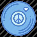 love, music, peace, vinyl