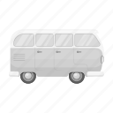 bus, old, retro, tourism, transport, travel, vehicle icon
