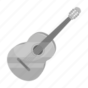 acoustics, guitar, instrument, music, musical, play, song icon