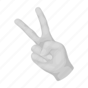 finger, freedom, gesture, hand, sign
