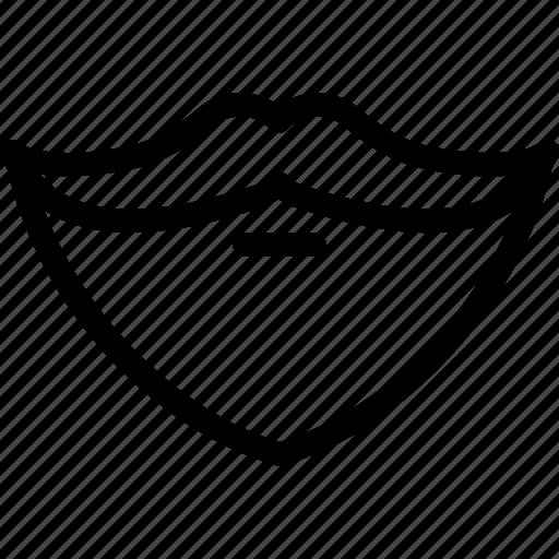 beard, face, man, mustache, person icon
