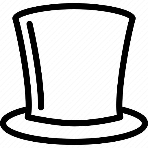 cap, hat, magic, magician, wand icon