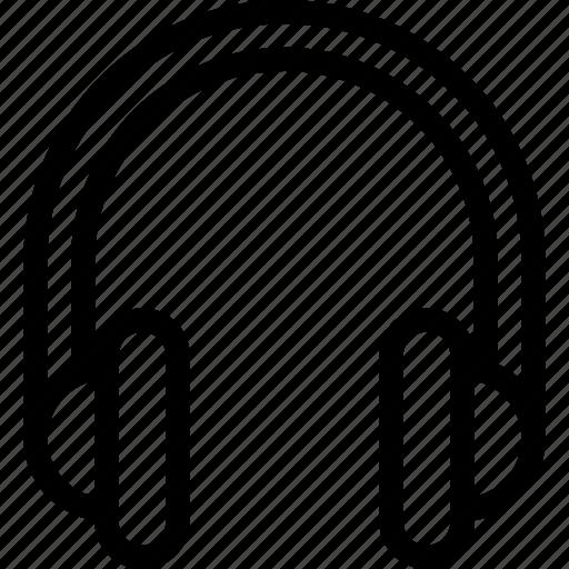 headphones, headset, music, play, sound icon