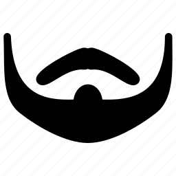 beard, face, male, man, mustache icon