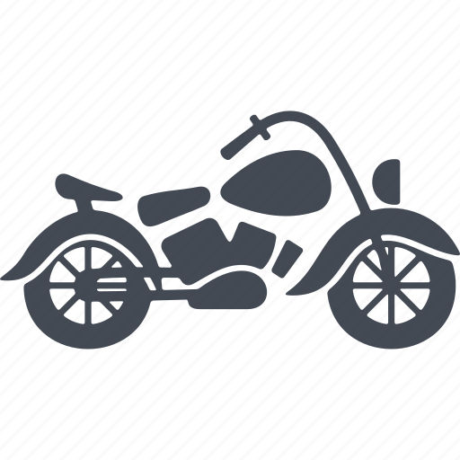 bike, hipster, motorcycle, transport icon