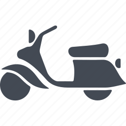 hipster, motorbike, motorcycle, scooter icon