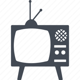 display, hipster, monitor, television, tv icon