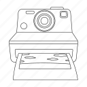 apparatus, camera, image, photo, photograph, picture, retro icon