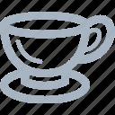 coffee, cup, glass