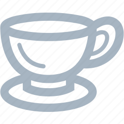 coffee, cup, glass icon