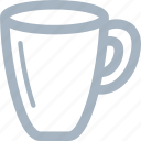 glass, handle, tea, tea cup icon