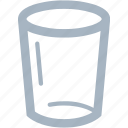 glass, highball, water glass icon
