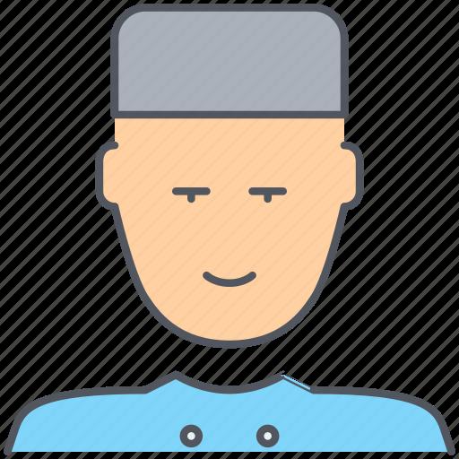 bellboy, concierge, hotel, reception, service, tourism, vacation icon