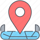 gps, location, map, marker, navigation, pointer, vacation icon
