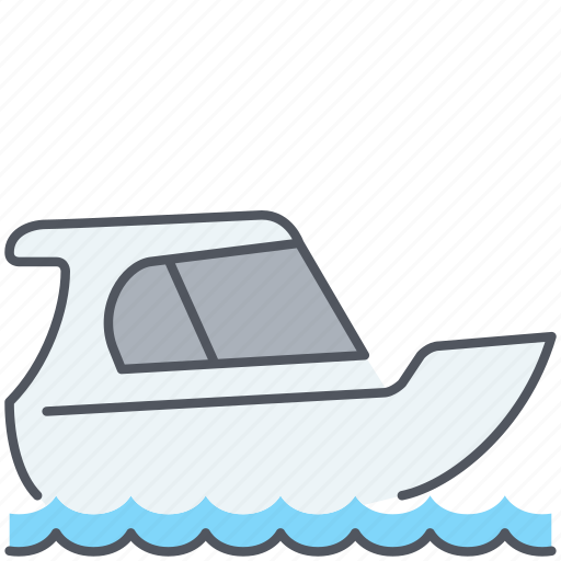 cruise, sailing, sea, tourism, travel, vacation, yacht icon
