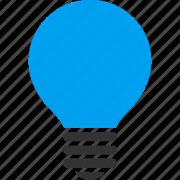 bulb, efficient, idea, innovation, lamp, lightbulb, solution icon