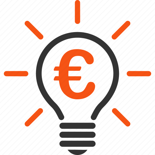 electric bulb, electricity, euro, european, lamp, light, power icon