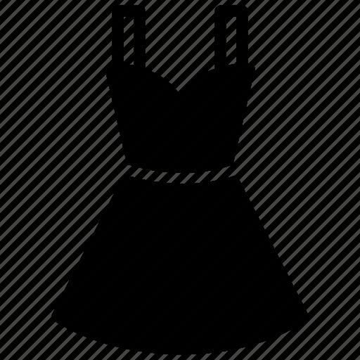 female shirt, frock, prom dress, readymade dress, tunic icon