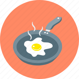 breakfast, cooking, dinner, eating, food, fried eggs, meal icon