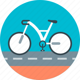 bicycle, bike, cycling, sports, transport, travel, vacation icon