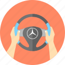 auto, automobile, car, driving, mercedes, travel, vacation icon