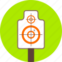 arrows, direction, goal, gun, navigation, shooting, target icon