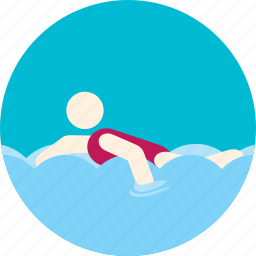 diving, floating, pool, sport, swimming, water icon