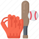 activities, baseball, hobbies, pastime, sports icon