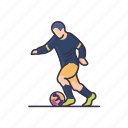 activity, boy, game, hobbies, learning, leisure, soccer icon