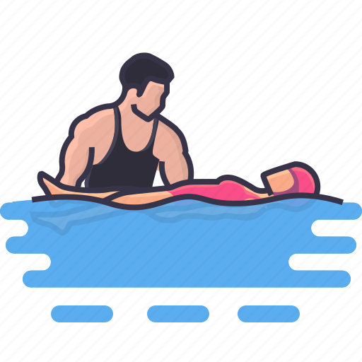activity, classes, hobbies, learning, leisure, private, swimming icon