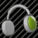 media, support, headphone, sound, audio, music, volume