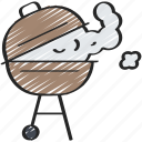 activities, bbq, cooking, hobbies, pastime icon